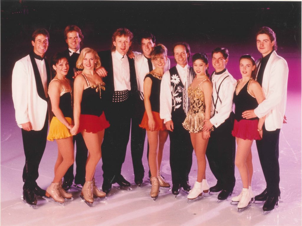 Inaugural Stars on Ice Cast, 1992
