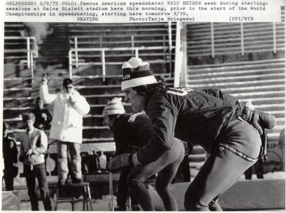 Eric Heiden in the early training days