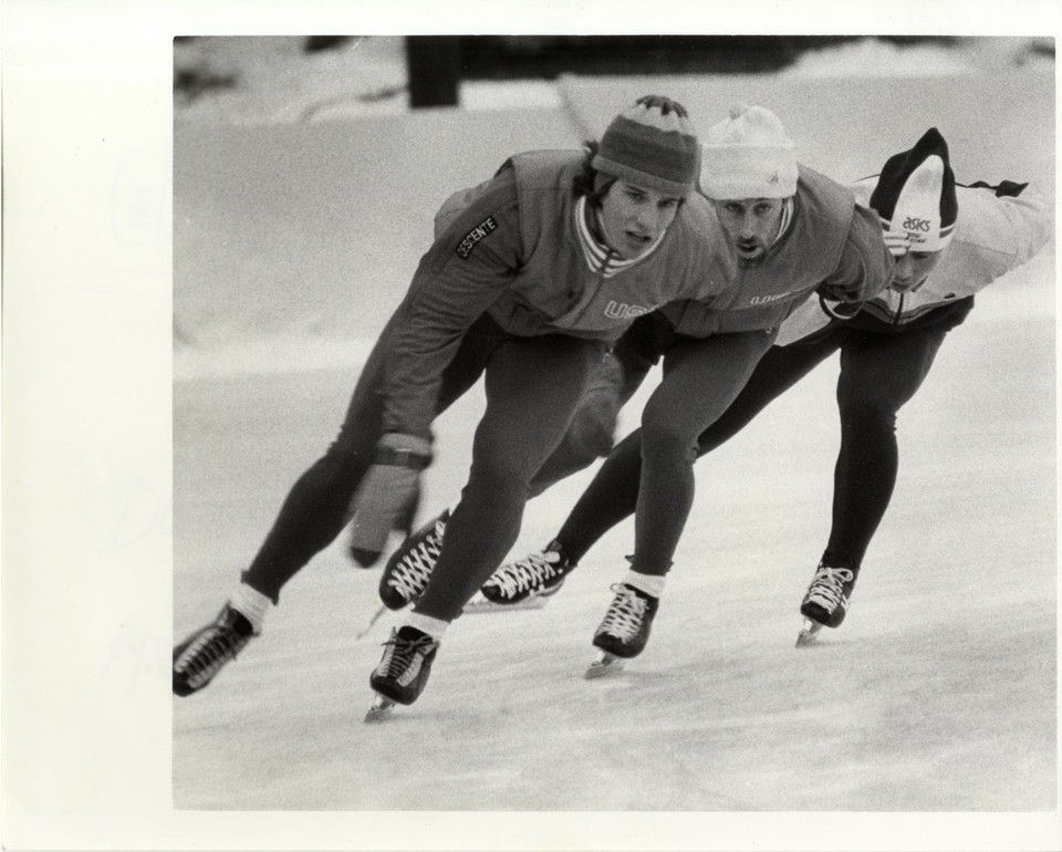 Olympic training in Lake Placid
