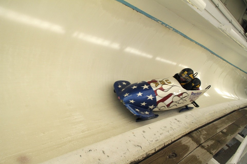 Bobsled training