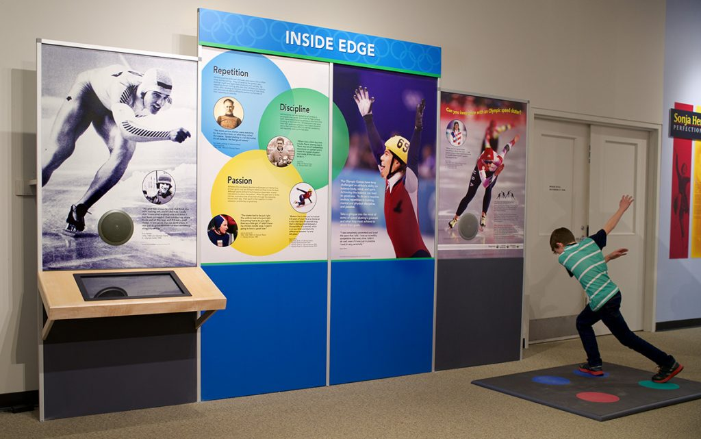 Quest for Speed Exhibit at the Lake Placid Olympic Museum