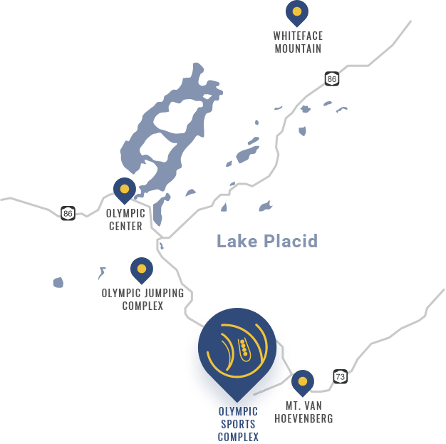 Map Olympic Sports Complex