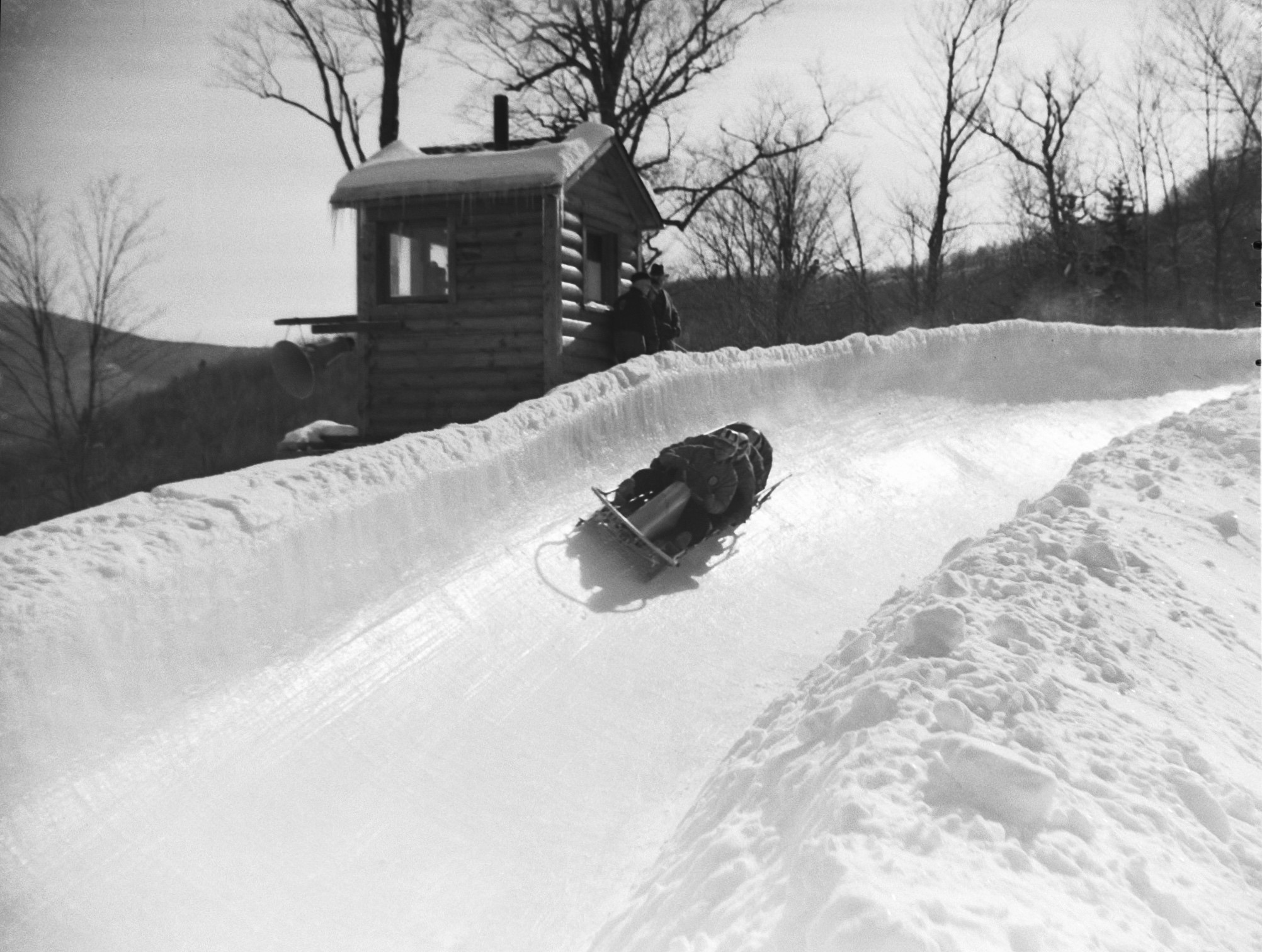 Early 4-man Bobsled