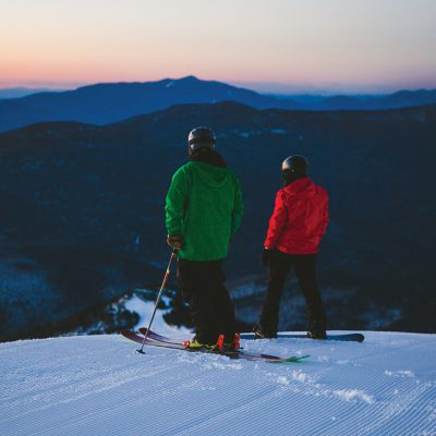 Skiing and Snowboarding at Whiteface Mountain