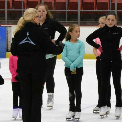 Summer Figure Skating Program at the Olympic Center