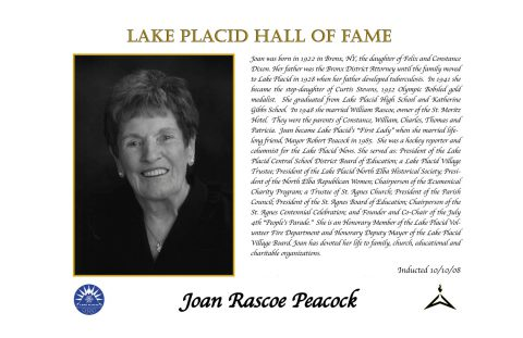 Joan Rascoe Peacock