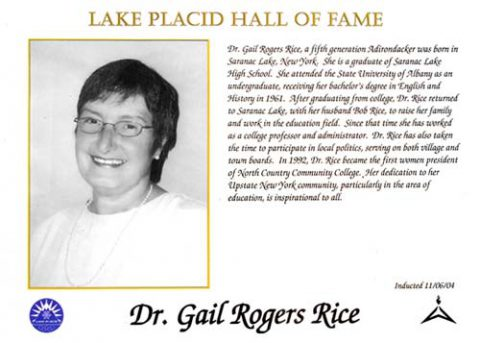 Dr. Gail Rogers Rice