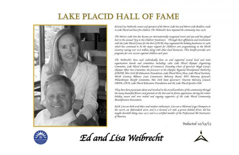 Ed and Lisa Weibrecht