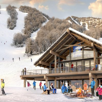 Rendering of Midstation at Whiteface