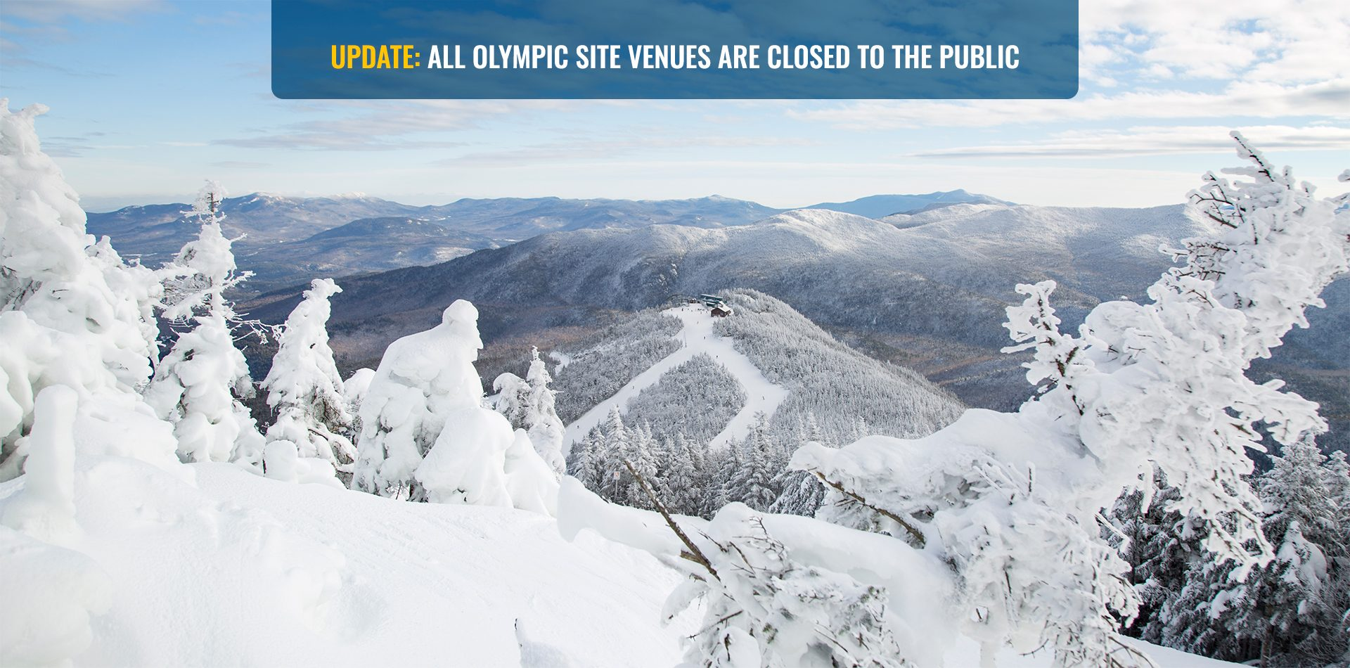 Update: All Olympic Site Venues Are Closed To The Public