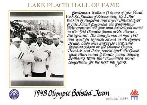 1948 Olympic Bobsled Team