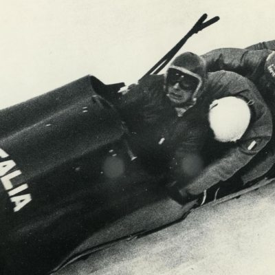 Eugenio Monti 4-man Sled 1961 World Championships