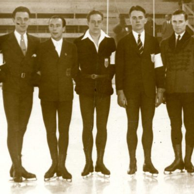 Men's Figure Skaters at the 1932 Olympics in Lake Placid